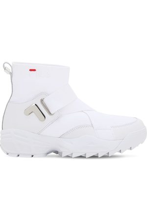 "Fila Sneakers ""mfw01 Wmn"" De Nylon Con Logo"