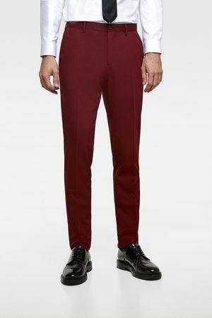 Zara Hombre Pantalones y Leggings - Pantalón traje cinzato comfort
