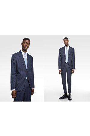 Zara Blazer raya diplomática traje coolmax®