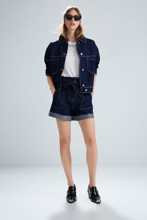 Zara Short denim cinturón