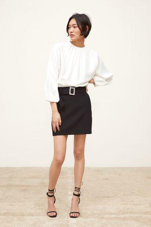 Zara Falda mini cinturón joya
