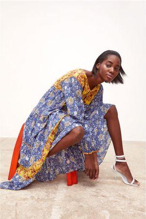 proporcionar un montón de nueva temporada comprar real Vestido estampado combinado