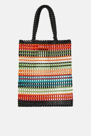 Zara Bolso shopper bolitas colores