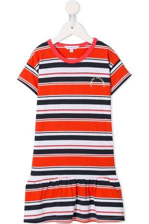 Marc Jacobs Niña Playeras - Striped logo T-shirt