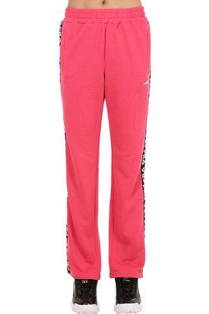 Fila Mujer Pantalones - Pantalones Deportivos Con Bandas Laterales