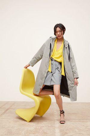 Zara Parka larga oversize capucha