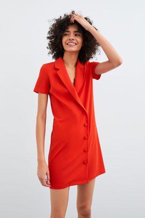 Zara Vestido cruzado