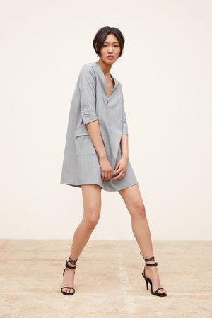 Zara Mujer Estampados - Vestido cuadros