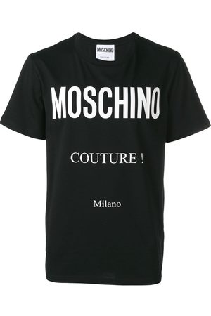 Moschino Playera con logo estampado