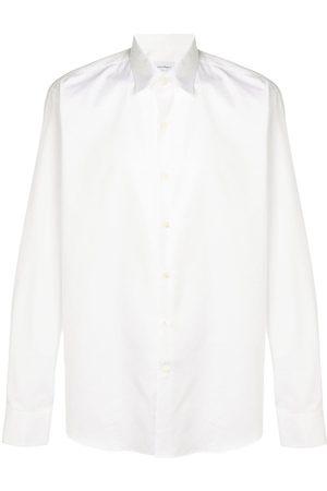 Salvatore Ferragamo Hombre Camisas - Camisa con logo estampado