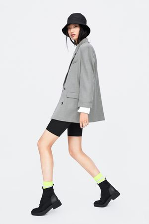 Zara Mujer Sacos - Blazer cuadros