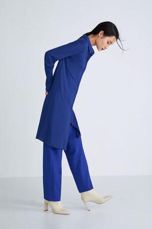 Zara Botín piel tacón ancho