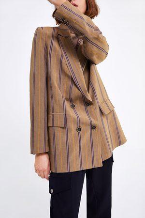 Zara Mujer Sacos - Blazer rayas
