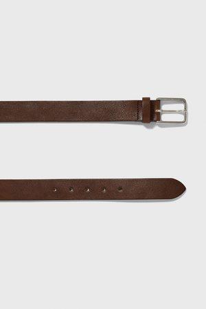 Zara Cinturón básico piel