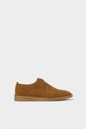 Zara Zapato piel marrón