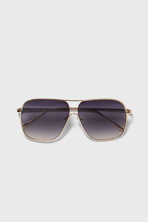 Zara Gafas de sol montura metálica