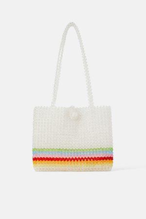Zara Bolso shopper abalarios multicolor