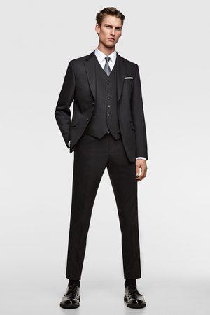 Zara Hombre Chalecos - Chaleco conjunto cinzato confort tailoring
