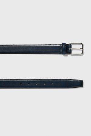 Zara Hombre Cinturones - Cinturón básico piel