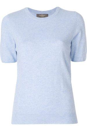 N.PEAL Camiseta con cuello redondo