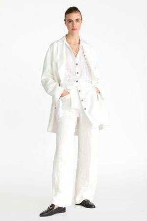 Zara Mujer Mocasines - Mocasín piel