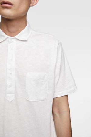 Zara Hombre Polos - Polo bolsillo