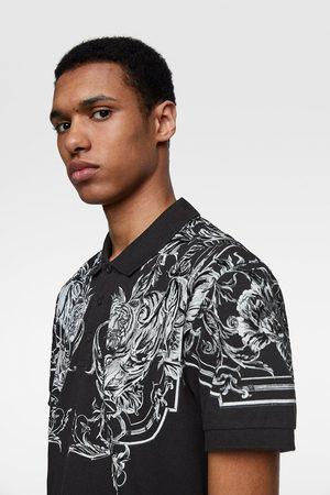 Zara Polo estampado textura