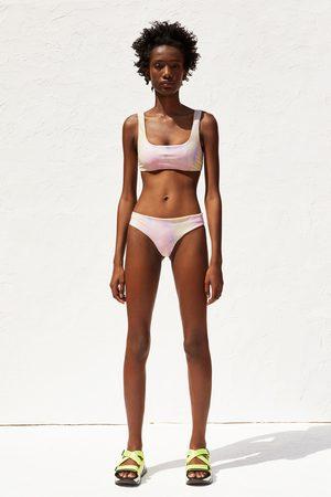 Zara Braguita bikini tie dye recycled capsule collection