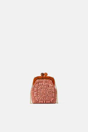 Zara Mini bandolera boquilla abalorios