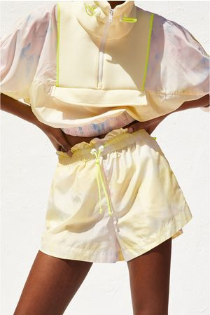 Zara Short tie dye recycled capsule collection