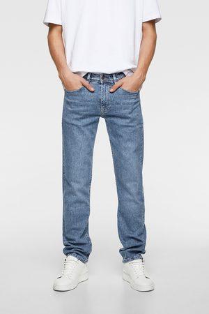Zara Hombre Skinny - Jeans básico slim straight