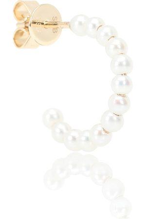 SOPHIE BILLE BRAHE Marco 14kt gold pearl single earring