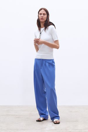 Zara Jersey básico manga corta