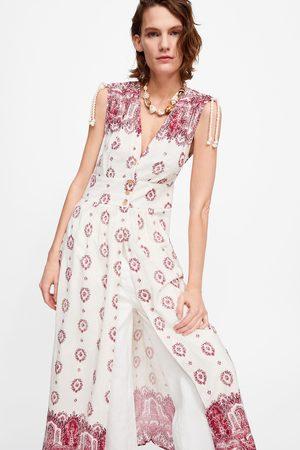 Zara Túnica estampada bordados