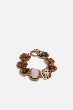 Zara Pulsera combinadas piedras edición limitada
