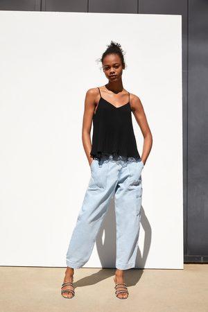 Zara Cuerpo lencero combinado