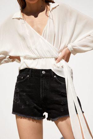 Zara Shorts denim rotos