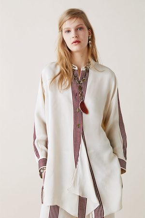 Zara Studio camisa rayas edición limitada