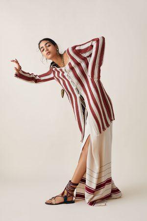 Zara Studio abrigo crochet bicolor edición limitada