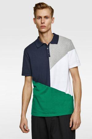 Zara Polo color block
