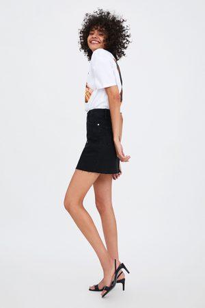 Zara Falda mini denim