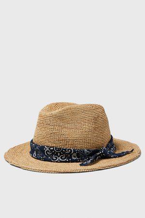 Zara Sombrero combinado bandana