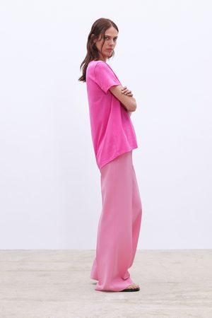 Zara Camiseta asimétrica básica