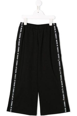 Le pandorine Pants con rayas laterales