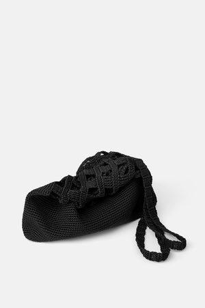 Zara Bolso saco hilo trenzado