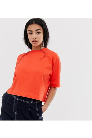 COLLUSION Petite boxy short sleeve t-shirt in