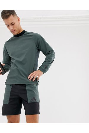 adidas Hombre Sudaderas - Training pack woven sweatshirt in