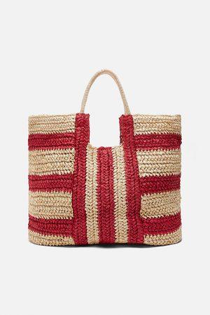 Zara Bolsa shopper natural