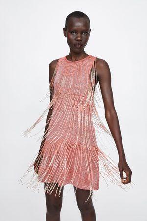 Zara Vestido flecos edición limitada