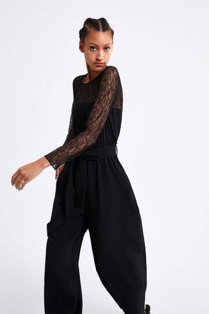 proporcionar un montón de belleza selección premium Overoles Y Jumpsuits de mujer Zara encaje ¡Compara ahora y ...